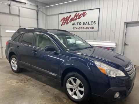 2014 Subaru Outback for sale at MOLTER AUTO SALES in Monticello IN