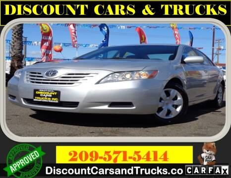 2007 Toyota Camry for sale at Discount Cars & Trucks in Modesto CA