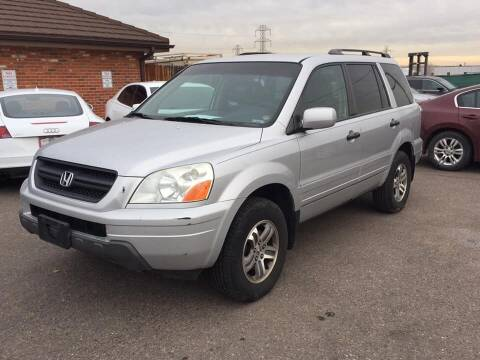 2004 Honda Pilot for sale at STATEWIDE AUTOMOTIVE LLC in Englewood CO