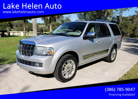 2011 Lincoln Navigator for sale at Lake Helen Auto in Lake Helen FL
