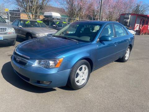 2006 Hyundai Sonata for sale at Blue Line Auto Group in Portland OR