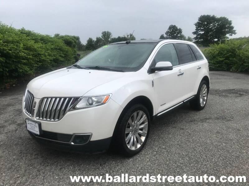 2013 Lincoln MKX for sale at Ballard Street Auto in Saugus MA