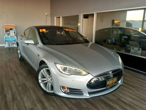 2014 Tesla Model S for sale at Golden State Auto Inc. in Rancho Cordova CA