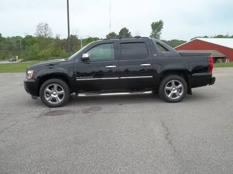 2011 Chevrolet Avalanche for sale at Rt. 44 Auto Sales in Chardon OH