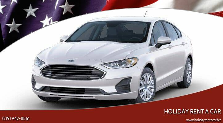 2019 Ford Fusion for sale at Holiday Rent A Car in Hobart IN