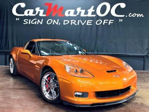 2007 Chevrolet Corvette for sale at CarMart OC in Costa Mesa, Orange County CA