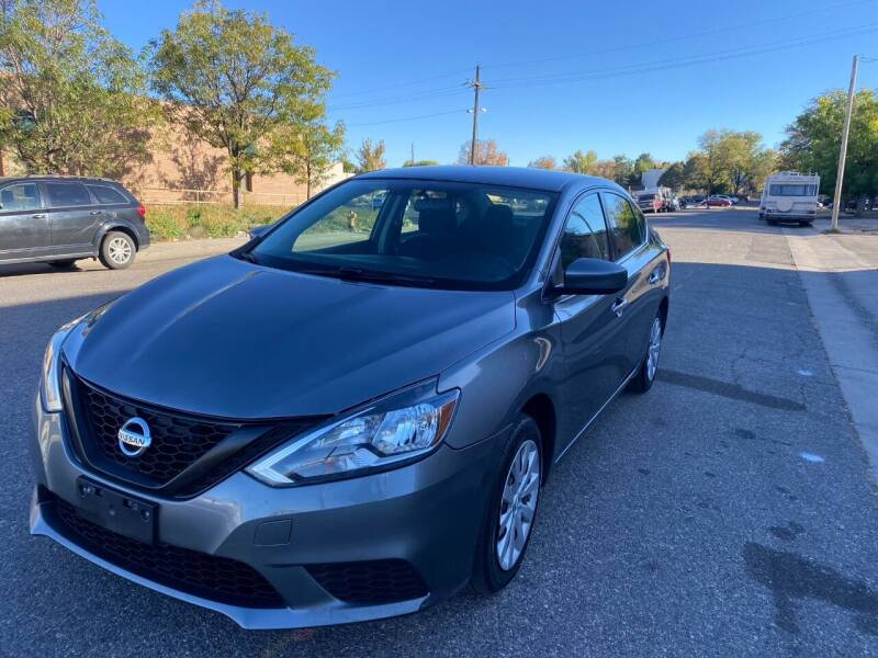 2017 Nissan Sentra for sale at AROUND THE WORLD AUTO SALES in Denver CO