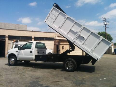 2004 Ford F-550 Super Duty for sale at Vehicle Center in Rosemead CA