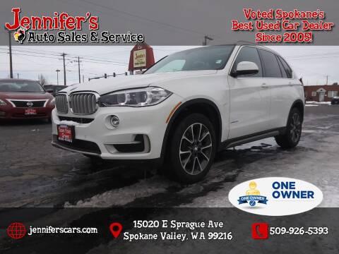 2018 BMW X5 for sale at Jennifer's Auto Sales in Spokane Valley WA