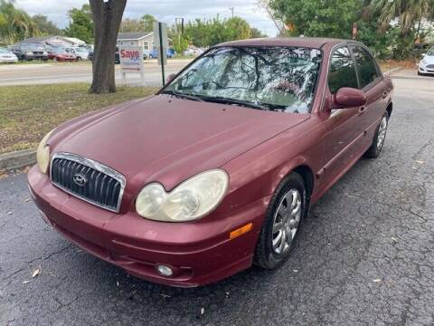 2004 Hyundai Sonata for sale at Florida Prestige Collection in St Petersburg FL