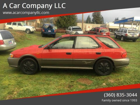 1999 Subaru Impreza for sale at A Car Company LLC in Washougal WA