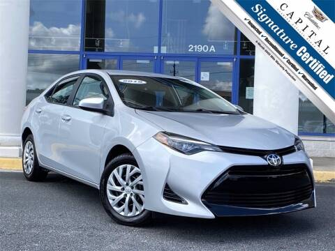 2018 Toyota Corolla for sale at Capital Cadillac of Atlanta in Smyrna GA