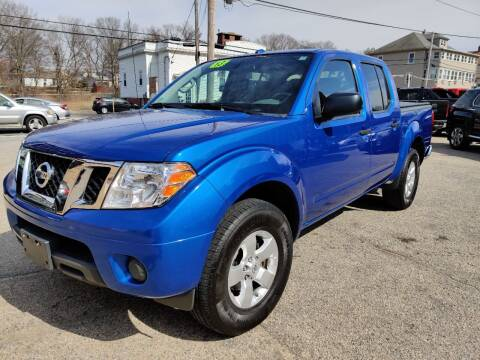 2013 Nissan Frontier for sale at Porcelli Auto Sales in West Warwick RI