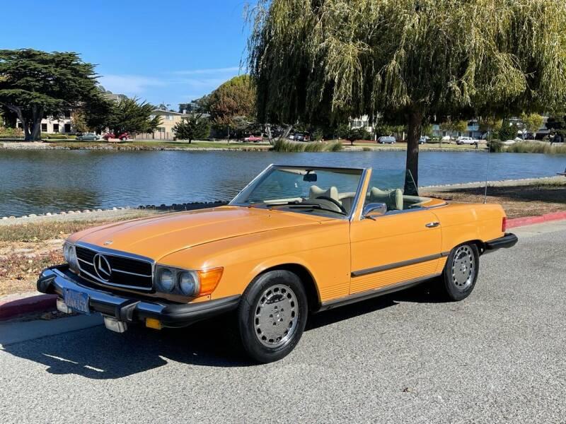 1976 Mercedes-Benz 450 SL for sale at Dodi Auto Sales in Monterey CA