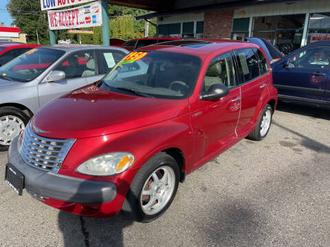 2001 Chrysler PT Cruiser for sale at Low Auto Sales in Sedro Woolley WA