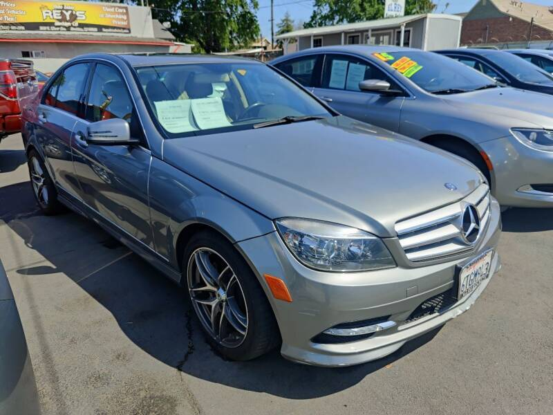 2011 Mercedes-Benz C-Class for sale at Rey's Auto Sales in Stockton CA