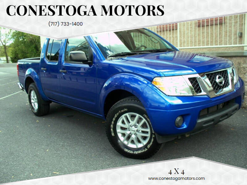 2015 Nissan Frontier for sale at CONESTOGA MOTORS in Ephrata PA