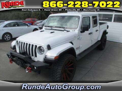 2020 Jeep Gladiator for sale at Runde PreDriven in Hazel Green WI