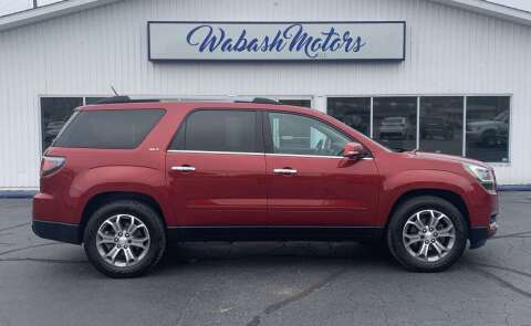 2014 GMC Acadia for sale at Wabash Motors in Terre Haute IN