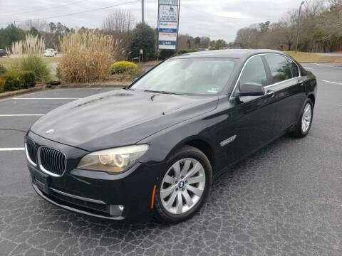 2010 BMW 7 Series for sale at GA Auto IMPORTS  LLC in Buford GA