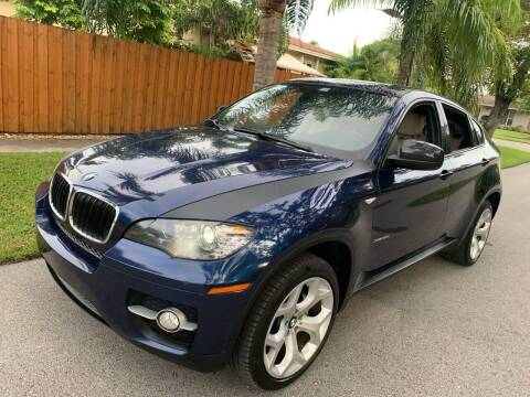 2011 BMW X6 for sale at FINANCIAL CLAIMS & SERVICING INC in Hollywood FL