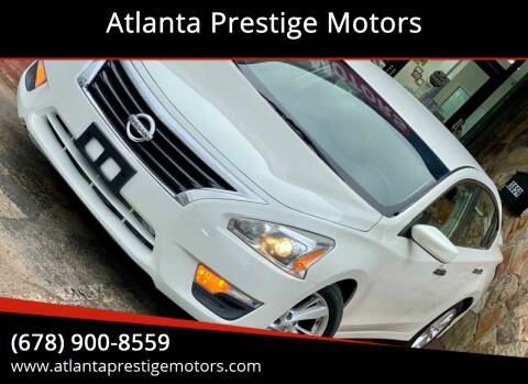 2013 Nissan Altima for sale at Atlanta Prestige Motors in Decatur GA