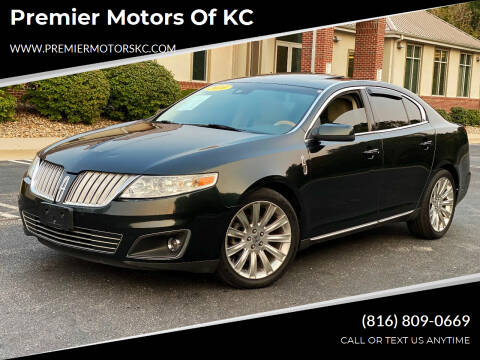 2010 Lincoln MKS for sale at Premier Motors of KC in Kansas City MO