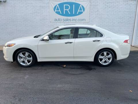 2010 Acura TSX for sale at ARIA  AUTO  SALES in Raleigh NC