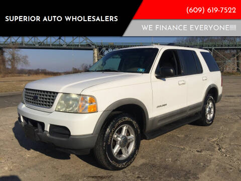 2002 Ford Explorer for sale at Superior Auto Wholesalers in Burlington City NJ