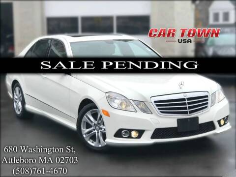 2010 Mercedes-Benz E-Class for sale at Car Town USA in Attleboro MA