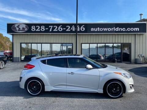 2013 Hyundai Veloster for sale at AutoWorld of Lenoir in Lenoir NC
