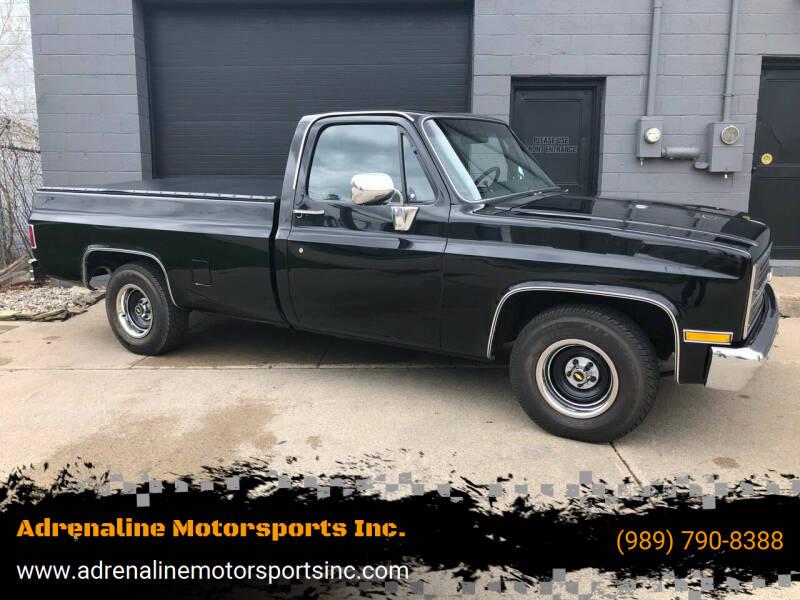 1984 Chevrolet C/K 10 Series for sale at Adrenaline Motorsports Inc. in Saginaw MI