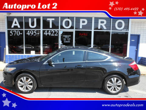 2008 Honda Accord for sale at Autopro Lot 2 in Sunbury PA