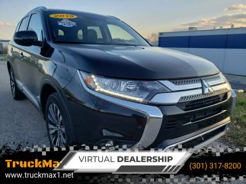 2019 Mitsubishi Outlander for sale at TruckMax in N. Laurel MD
