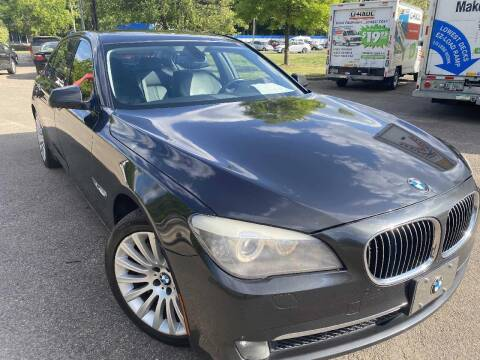 2012 BMW 7 Series for sale at The Auto Depot in Raleigh NC