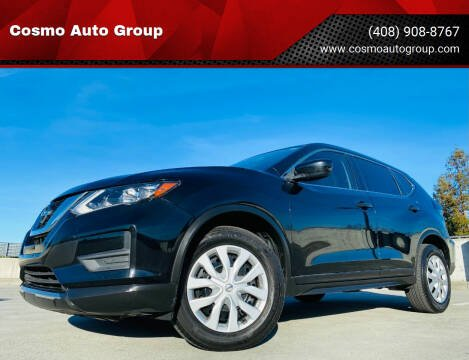 2017 Nissan Rogue for sale at Cosmo Auto Group in San Jose CA