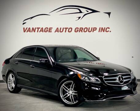 2014 Mercedes-Benz E-Class for sale at Vantage Auto Group Inc in Fresno CA
