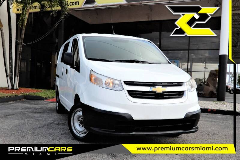 2017 Chevrolet City Express Cargo for sale at Premium Cars of Miami in Miami FL