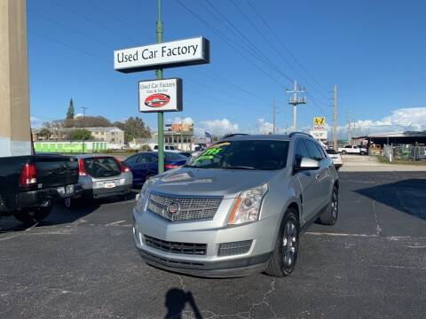 2011 Cadillac SRX for sale at Used Car Factory Sales & Service in Bradenton FL