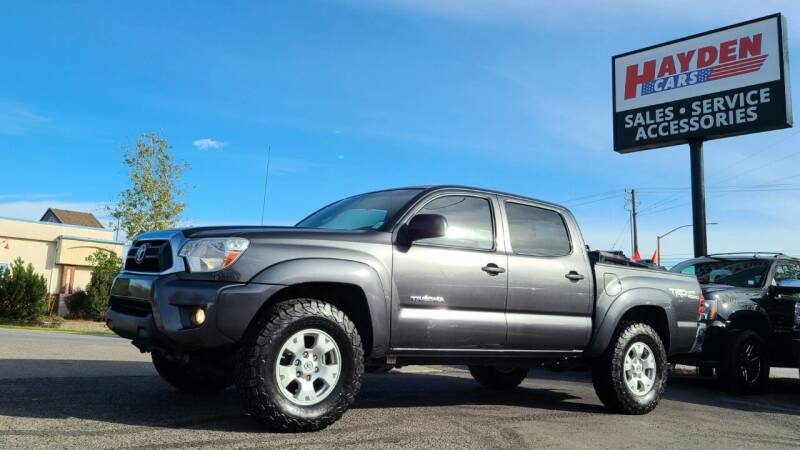 2014 Toyota Tacoma for sale at Hayden Cars in Coeur D Alene ID