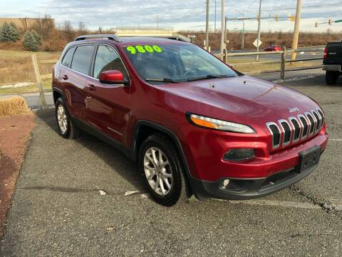 2015 Jeep Cherokee for sale at Cool Breeze Auto in Breinigsville PA