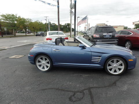 2006 Chrysler Crossfire for sale at DeLong Auto Group in Tipton IN