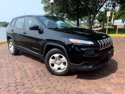 2017 Jeep Cherokee for sale at PUTNAM AUTO SALES INC in Marietta OH