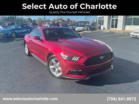 2016 Ford Mustang for sale at Select Auto of Charlotte in Matthews NC