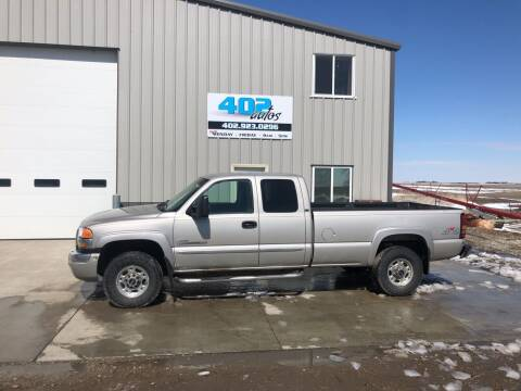 2006 GMC Sierra 2500HD for sale at 402 Autos in Lindsay NE