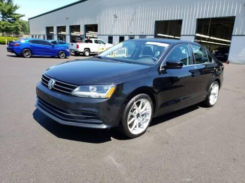 2017 Volkswagen Jetta for sale at Riverside Auto Sales & Service in Portland ME