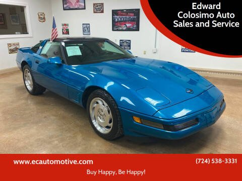1995 Chevrolet Corvette for sale at Edward Colosimo Auto Sales and Service in Evans City PA