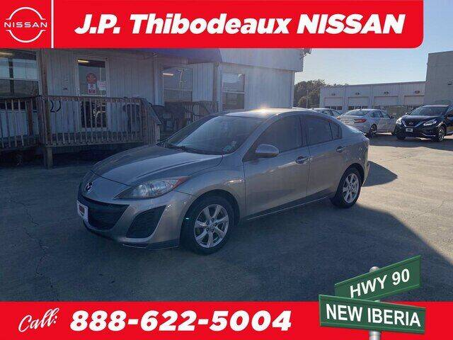 2011 Mazda MAZDA3 for sale at J P Thibodeaux Used Cars in New Iberia LA