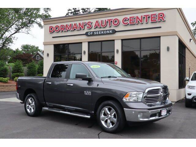 2016 RAM Ram Pickup 1500 for sale at DORMANS AUTO CENTER OF SEEKONK in Seekonk MA