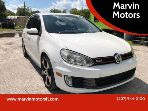 2011 Volkswagen GTI for sale at Marvin Motors in Kissimmee FL